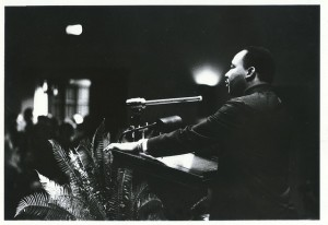 Rev. Dr. Martin Luther King. Duke University Archives. Durham, North Carolina, USA.